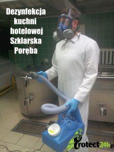 Dezynfekcja Kuchni - Hotel