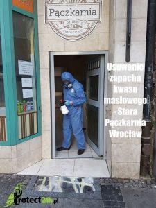 Usuwanie zapachu kwasu masłowego - Stara Pączkarnia Wrocław
