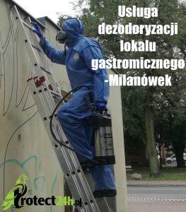 Usługa dezodoryzacji lokalu gastronomicznego - Milanówek