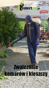 Zwalczanie Kleszczy i komarów
