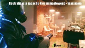 Neuatralizacja zapachu kwasu masłowego - Warszawa