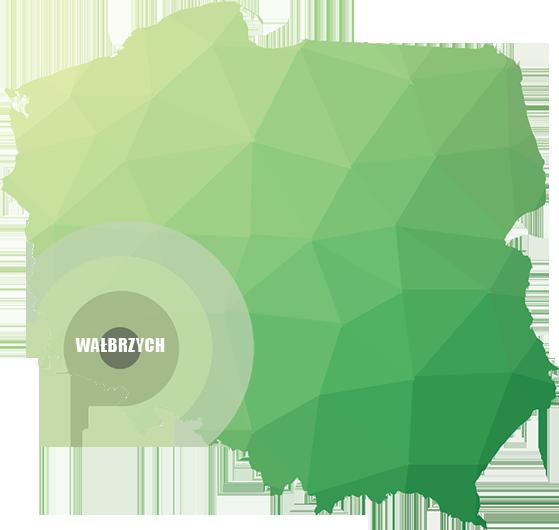 Dezynfekcja Wrocław Wałbrzych Legnica Świdnica - MAPA ZASIĘGU